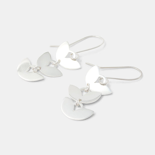 Leaves dangle earrings