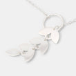 Leaves lariat necklace
