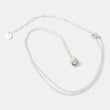 Sterling silver chain necklace for women with pearl gemstones in our handcrafted jewelry store online.