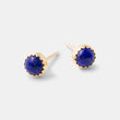 Gold and lapis lazuli stud earrings in our Australian jewellery online store.