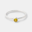 Gemstone stacking ring in sterling silver in our Australian online jewellery store.