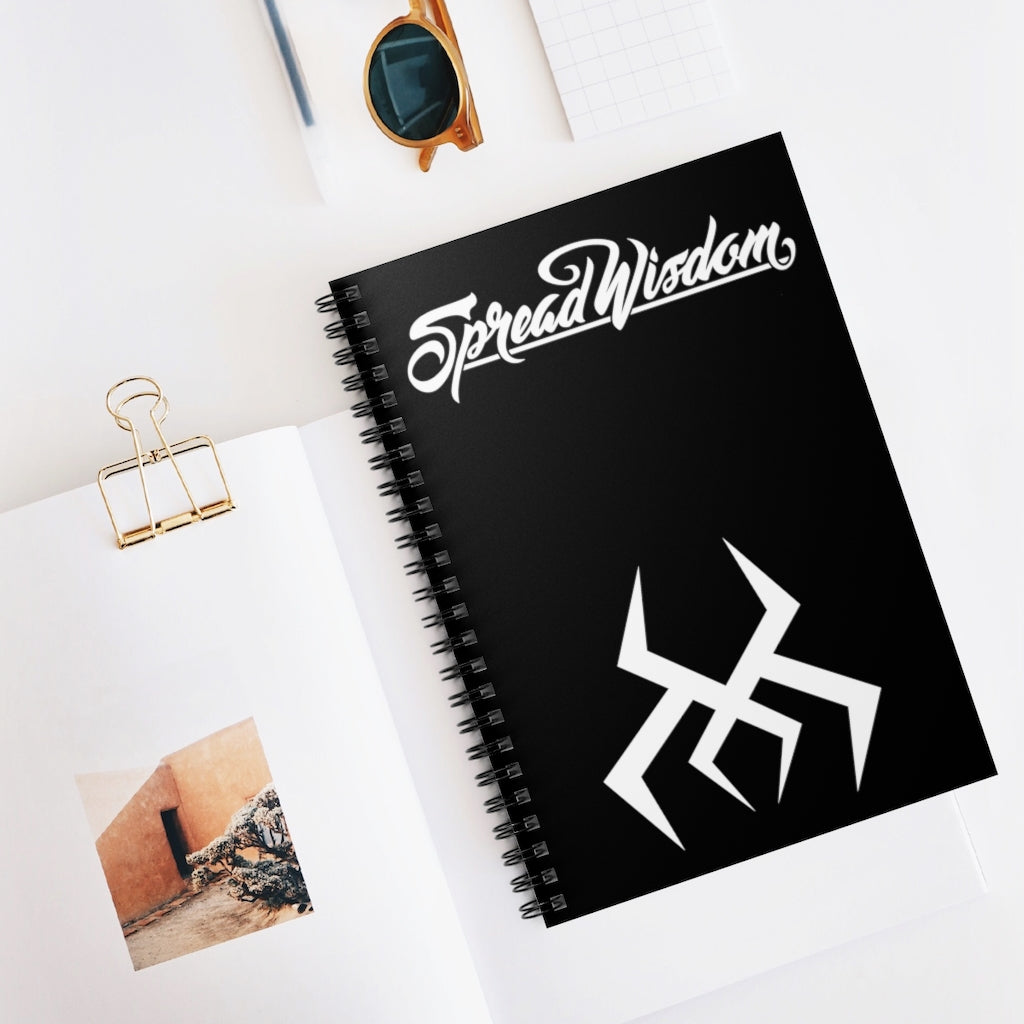 Spread Wisdom Spiral Notebook