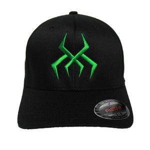Bug Logo Hat [Black] (Green Print)