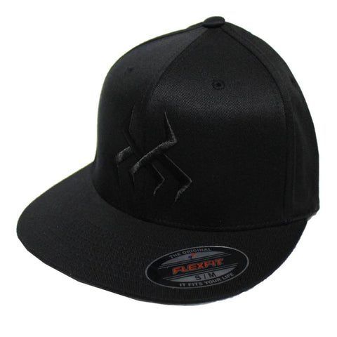 Image of Bug Logo Hat [Black] (Black Print)
