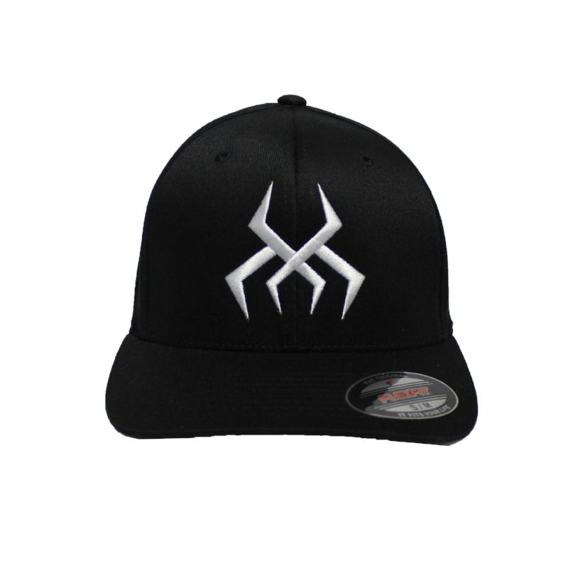 Bug Logo Hat [Black] (White Print)