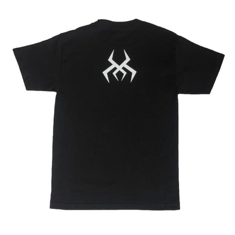 Image of Black Logo Tee (White Print)