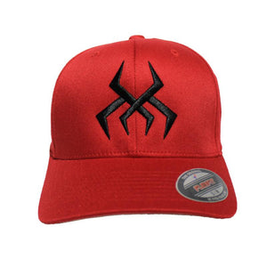 Bug Logo Hat [Red] (Black Print)