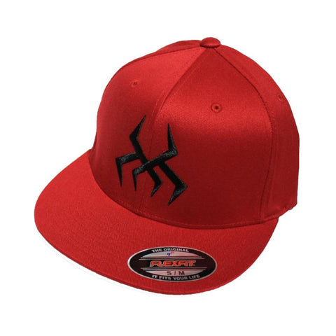 Image of Bug Logo Hat [Red] (Black Print)