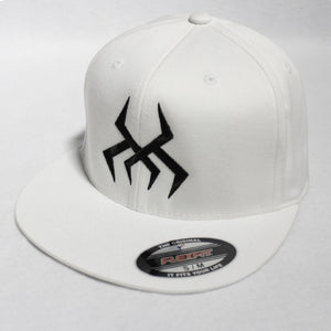 Bug Logo Hat [White] (Black Print)