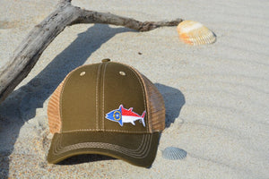 sportfishing trucker hat