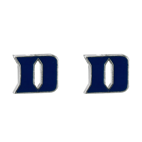 Duke Blue Devils Logo Stud Earrings - Blazin' Buddy