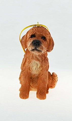 Labradoodle Dog Ornament - Blazin' Buddy