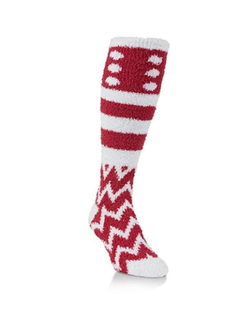 Worlds Softest Team Collection Cozy Knee-Hi Socks - Blazin' Buddy