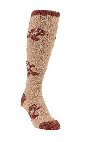World's Softest Womens Polyester Spandex Cozy Knee High Socks - Blazin' Buddy