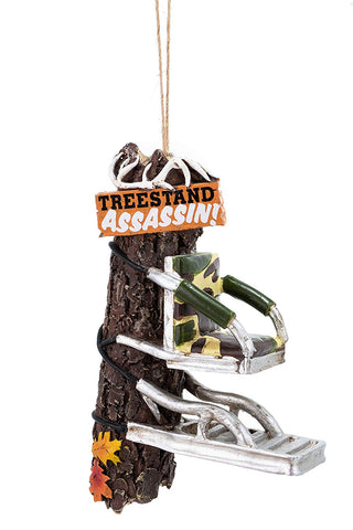 "Treestand Ornament 3.75"" - Blazin' Buddy"