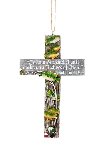 "Fish/Bible/Quote Ornament 3.75"" - Blazin' Buddy"