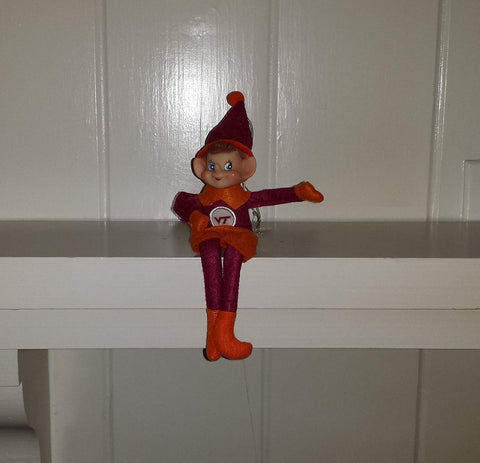 Virginia Tech Hokies Pixie - Blazin' Buddy