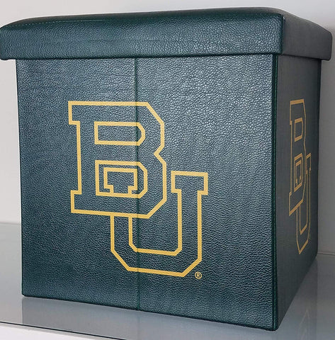Baylor Bears Collapsible Storage Ottoman - Blazin' Buddy