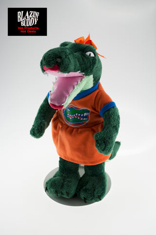 "Florida Gators 11"" Plush Alberta Stuffed Mascot - Blazin' Buddy"