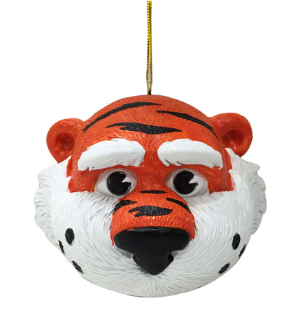 Auburn Tigers Mascot Head Ornament