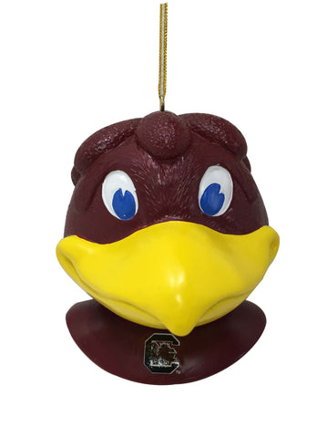 South Carolina Gamecocks Mascot Head Ornament
