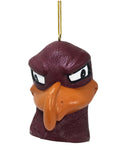 Virginia Tech Hokies Mascot Head Ornament - Blazin' Buddy
