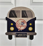 New York Yankees Wagon Bus Wall Decor - Blazin' Buddy
