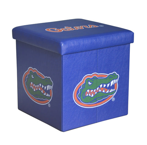 Florida Gators Square Storage Ottoman - Blazin' Buddy