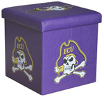 ECU Pirates Square Storage Ottoman - Blazin' Buddy