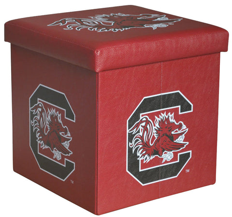 South Carolina Gamecocks Square Storage Ottoman - Blazin' Buddy
