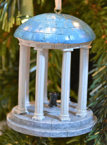 "North Carolina Tar Heels ""Old Well"" Ornament - Blazin' Buddy"
