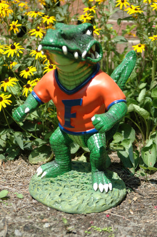 "Florida Gators ""Albert"" Painted Garden Statue"