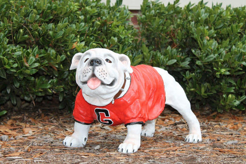 Georgia Bulldogs UGA Painted Garden Statue - Blazin' Buddy