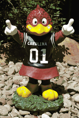 "South Carolina Gamecocks ""Cocky""  Mascot Painted Garden Statue"