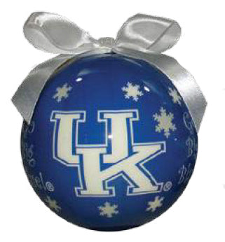 Kentucky Wildcats Snowflake Ornament - Blazin' Buddy