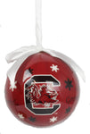 South Carolina Gamecocks Snowflake Ornament