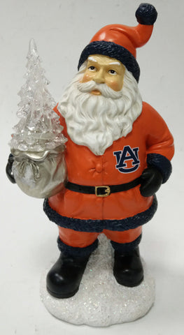 Auburn Tigers Santa With Tree