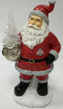 Ohio State Buckeyes Santa With Tree
