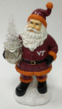 Virginia Tech Hokies Santa With Tree