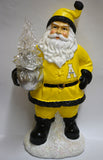 Appalachian State Mountaineers Santa With Tree - Blazin' Buddy