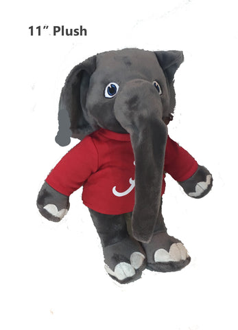"Alabama Crimson Tide 11"" Plush Big Al Stuffed Mascot"
