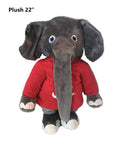 "Alabama Crimson Tide 22"" Plush Big Al Stuffed Mascot - Blazin' Buddy"