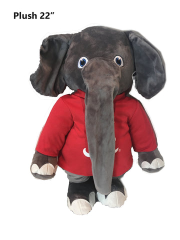 "Alabama Crimson Tide 22"" Plush Big Al Stuffed Mascot"