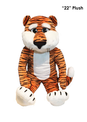 "Auburn Tigers 22"" Plush ""Aubie"" Tiger Stuffed Mascot - Blazin' Buddy"