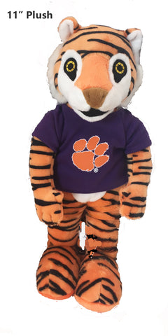 "Clemson Tigers 11"" Plush Tiger Stuffed Mascot"