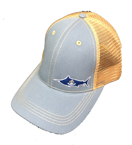 Louisiana Marlin Trucker Hat