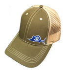 Louisiana Sailfish Trucker Hat - Blazin' Buddy