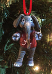 Alabama Crimson Tide Mascot Ornament - Blazin' Buddy
