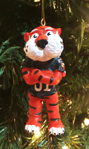 Auburn Tigers Mascot Ornament - Blazin' Buddy