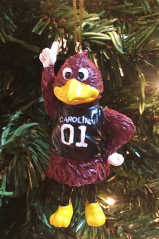 South Carolina Gamecocks Mascot Ornament - Blazin' Buddy